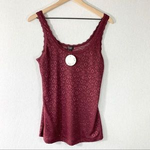 NWT Evereve Cosabella Lace Cami Tank Size Large